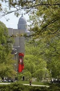 Capitol from Bascom -- summer